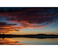 Sunset Sky September 7, 2014 Photographic Print