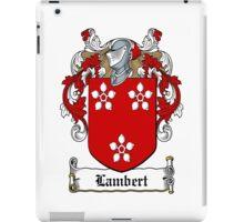 Lambert iPad Case/Skin