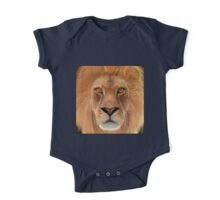 Male Lion One Piece - Short Sleeve