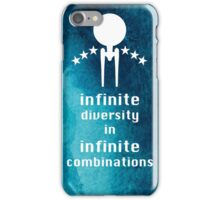 Infinite diversity iPhone Case/Skin