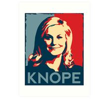 KNOPE We Can Art Print