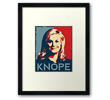KNOPE We Can Framed Print