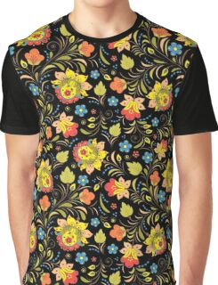 traditional russian floral ornament. Graphic T-Shirt