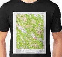 USGS TOPO Map California CA Calistoga 296983 1959 62500 geo Unisex T-Shirt