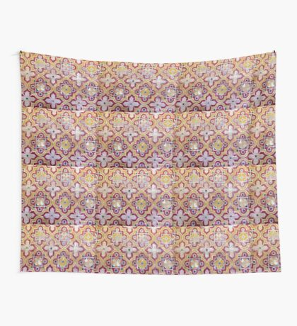 Decorative tiles Islamic motif  Wall Tapestry
