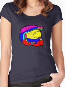 HALO (Rainbow) Women's Fitted Scoop T-Shirt