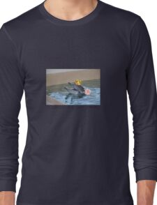Dolphins are gay sharks Long Sleeve T-Shirt