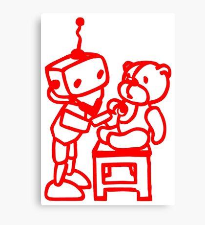 Robot-Doctor Canvas Print