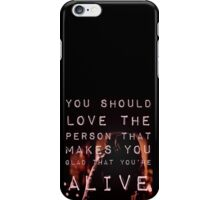 That's What Love Should Be iPhone Case/Skin