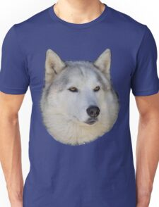 Husky White wolf Unisex T-Shirt