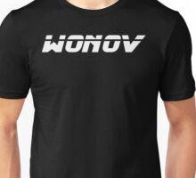 Wonov Text Plain White Unisex T-Shirt