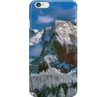 YOSEMITE VALLEY, WINTER iPhone Case/Skin