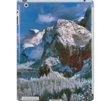 YOSEMITE VALLEY, WINTER iPad Case/Skin