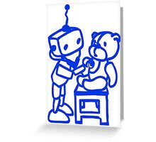 Robot-Doctor Greeting Card