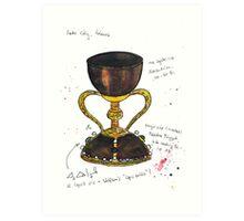 Santo Caliz Art Print