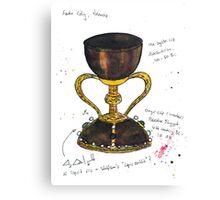 Santo Caliz Canvas Print