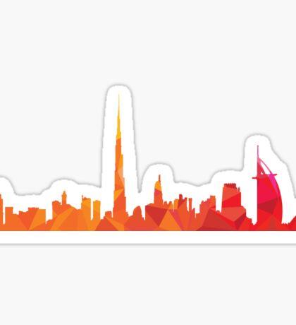Dubai skyline  Sticker