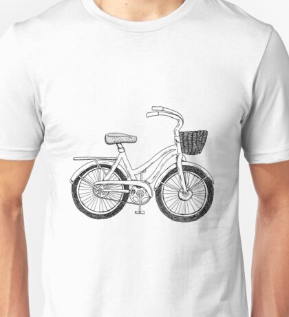 Beach Cruiser Art Unisex T-Shirt