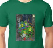 TMNT Rooftop Unisex T-Shirt