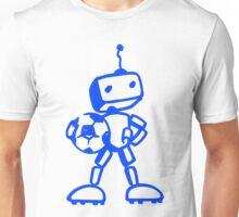 Robot soccer player Unisex T-Shirt