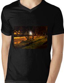 The Rushing Rio Tomebamba II Mens V-Neck T-Shirt
