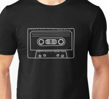 Cassette Tape Music Mixtape Vintage Retro 80s Tech Unisex T-Shirt