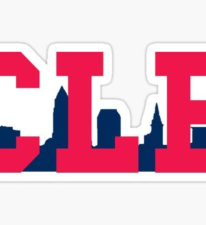 CLE - Skyline (Indians) Sticker