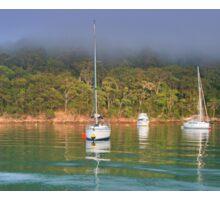 Towlers Bay Boat Moorings Sticker