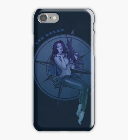 Diving Belle  iPhone Case/Skin