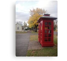 Telephone Boxes at Ross Canvas Print