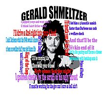 Gerald Shmeltzer Multi Quote Photographic Print