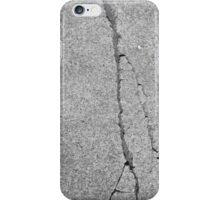 BROKEN SIDEWALK (Damaged) iPhone Case/Skin