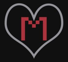 Markiplier Heart with Logo by omgDarceVader