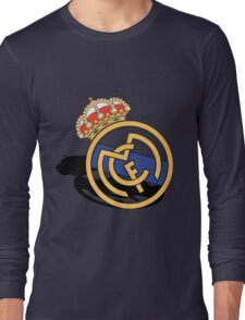 real madrid white Long Sleeve T-Shirt