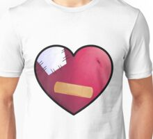 Band Aid Heart  Unisex T-Shirt