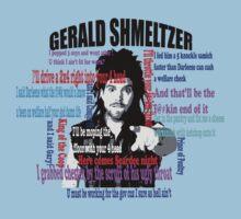 Gerald Shmeltzer Multi Quote One Piece - Short Sleeve