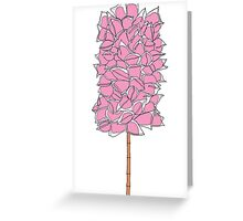 Cotton Candy Tree T Shirt Greeting Card