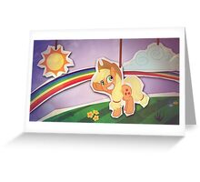 AJ The World Greeting Card