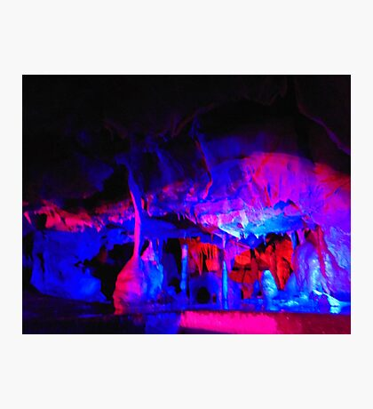 Colourful Caves Photographic Print