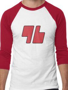Trainer Red 96 Shirt Men's Baseball ¾ T-Shirt
