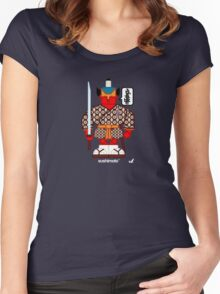AFR Superheroes #10 - Sushimoto Women's Fitted Scoop T-Shirt