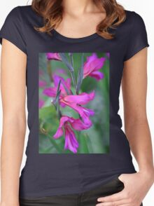 Beauty in a Garden Women's Fitted Scoop T-Shirt
