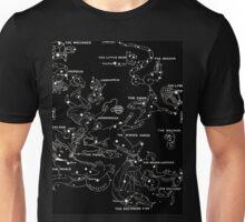 1920's Autumn Constellation Map Unisex T-Shirt