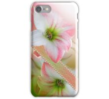 Flowers and Pearls iPhone Case/Skin
