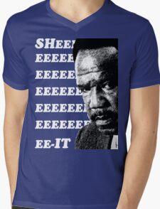 "Clay Davis ""sheeeeee-it"" 3 Mens V-Neck T-Shirt"