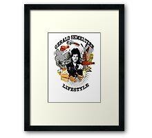 Gerald Shmeltzer Lifestyle (light shirt version) Framed Print