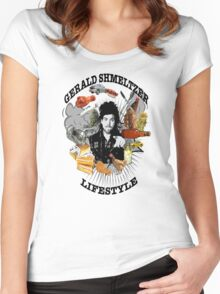 Gerald Shmeltzer Lifestyle (light shirt version) Women's Fitted Scoop T-Shirt