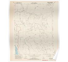 USGS TOPO Map California CA Childs Hill 302693 1966 24000 geo Poster