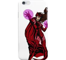 Scarlet Witch iPhone Case/Skin