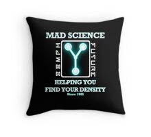Mad Science Throw Pillow